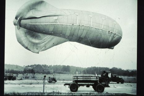 An early airship.