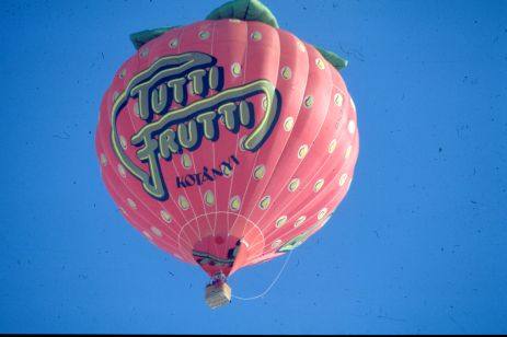 Due to their uniqueness and high level of recall, special shaped hot air balloons are often used as an outdoor advertising medium.