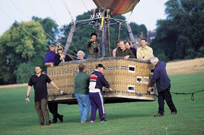 The Hot Air Balloon Basket